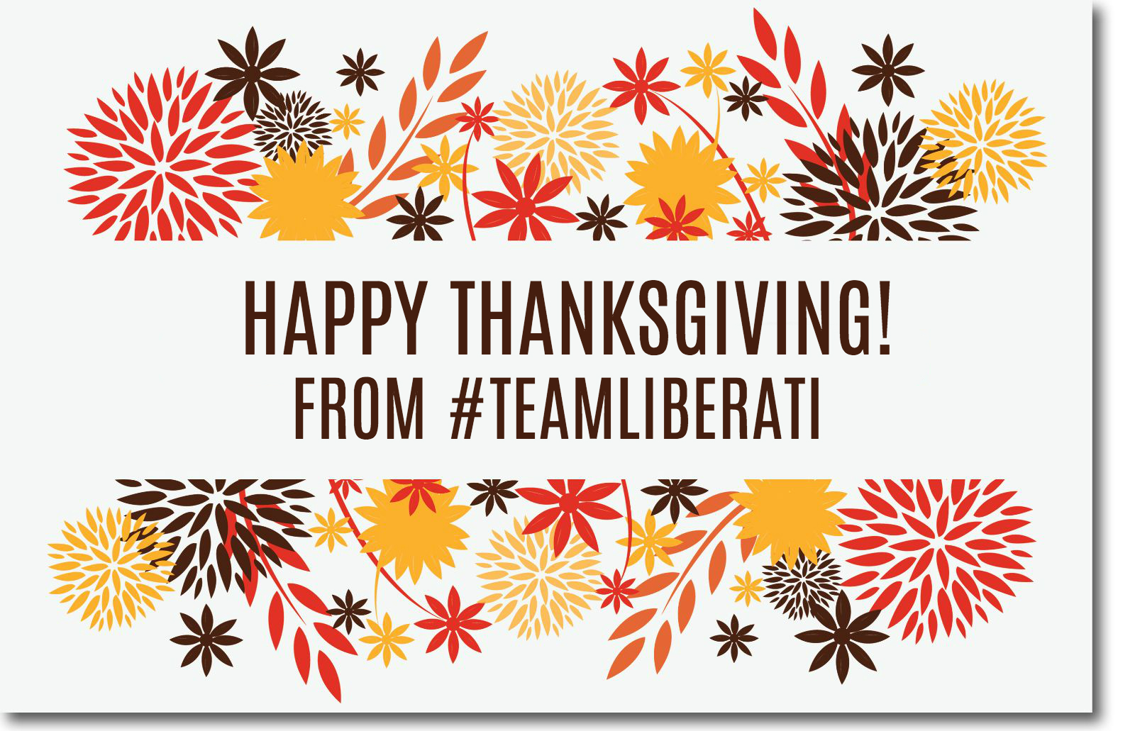 Liberati thanksgiving